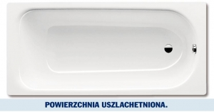 Kaldewei Saniform Plus wanna prostokątna 170x70 cm z powłoką uszlachetnioną model 363-1 1118.0001.3001
