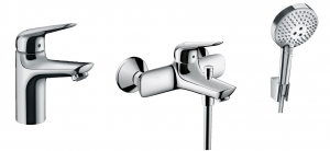HansGrohe Novus komplet wannowy 3:1 52057003