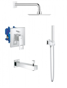 Grohe Eurocube komplet wannowy podtynkowy 117651ED