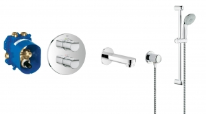 Grohe Grohtherm 2000 NEW komplet wannowy podtynkowy 119304ED