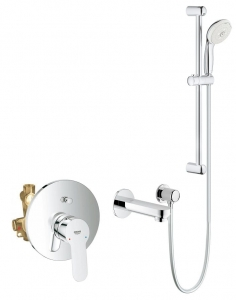 Grohe BauEdge komplet wannowy podtynkowy 118017ED