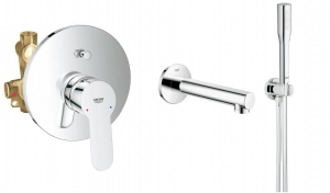 Grohe BauEdge komplet wannowy podtynkowy 118011ED