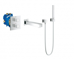 Grohe Grohtherm Cube komplet wannowy 34501ED