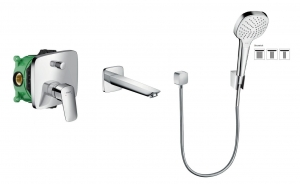 HansGrohe Logis komplet wannowy podtynkowy 5205401ED