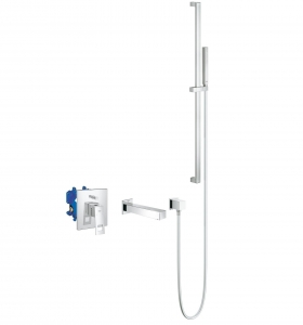 Grohe Eurocube komplet wannowy podtynkowy 117760ED