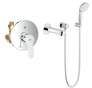 Grohe BauEdge komplet wannowy podtynkowy 118003ED