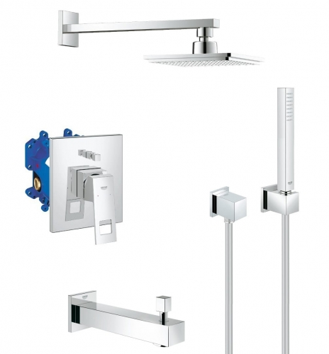 Grohe Eurocube komplet wannowy podtynkowy 117653ED