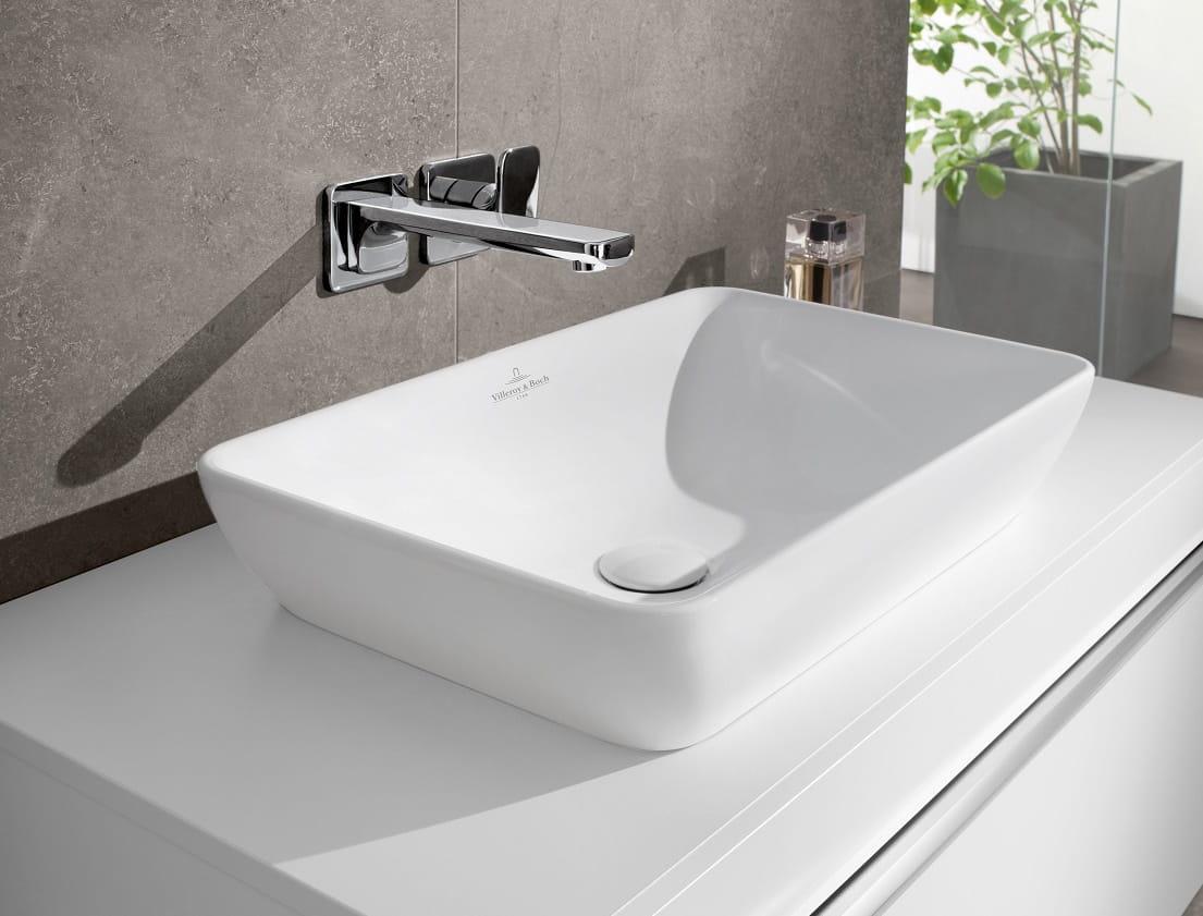 villeroy boch venticello ceramicplus umywalka nablatowa 55x36cm 411355r1 lazienki online. Black Bedroom Furniture Sets. Home Design Ideas