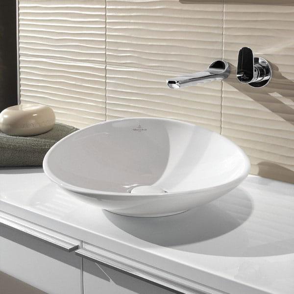 villeroy boch my nature umywalka nablatowa 45cm ceramicplus lazienki online. Black Bedroom Furniture Sets. Home Design Ideas