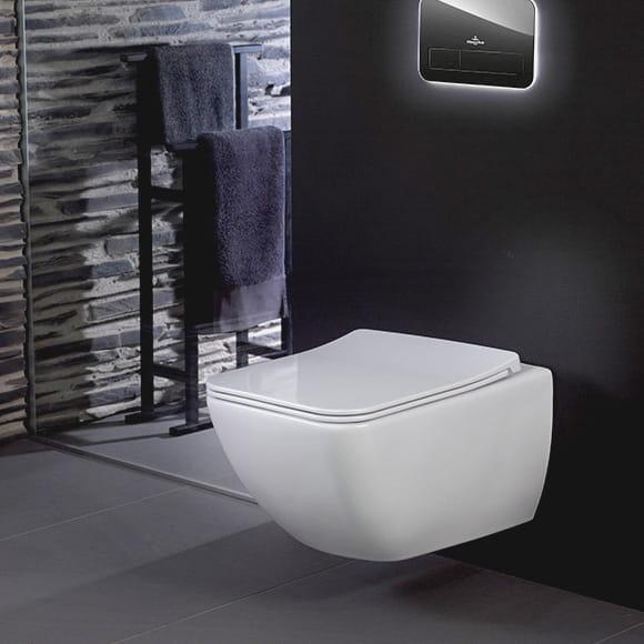 villeroy boch venticello directflush miska podwieszana 56x37 5cm z desk wolnoopadaj c 4611r001. Black Bedroom Furniture Sets. Home Design Ideas